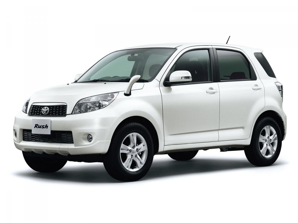 Toyota Rush 1 5 109 Hp 4wd 5mt